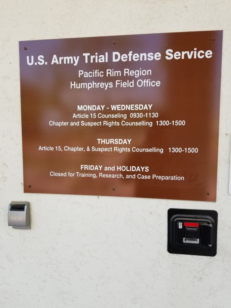 Civilian, experienced, Hill Air Force Courts-Martial Defense.